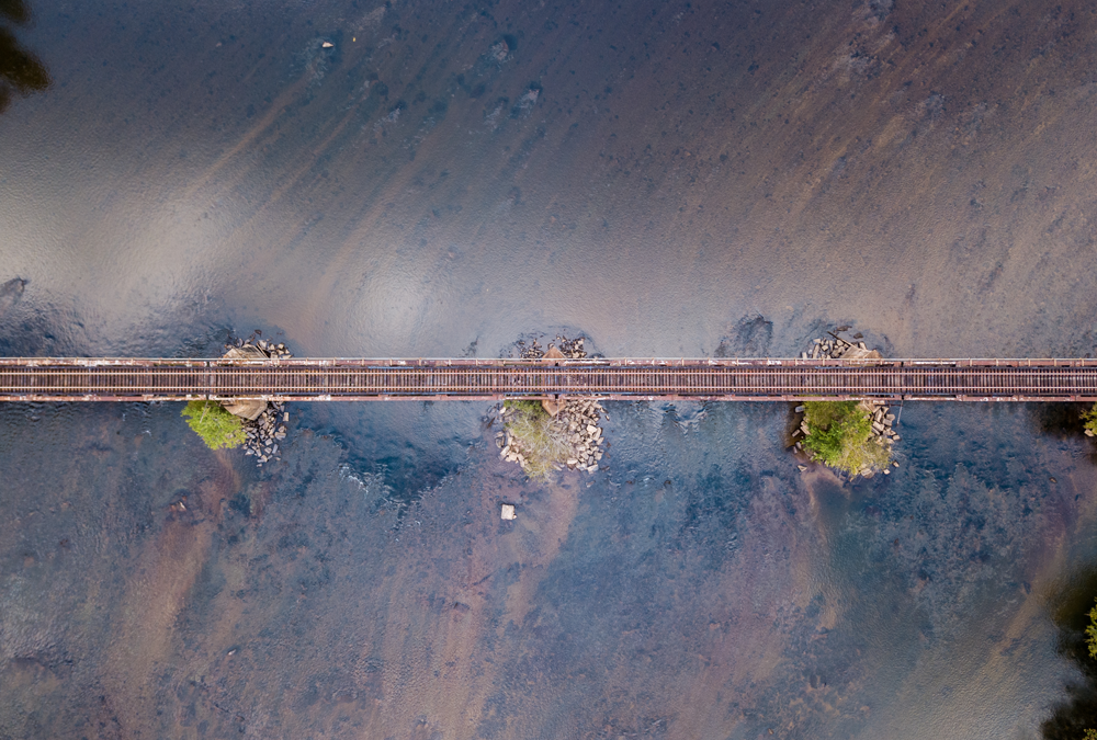 Trestle and Sediment