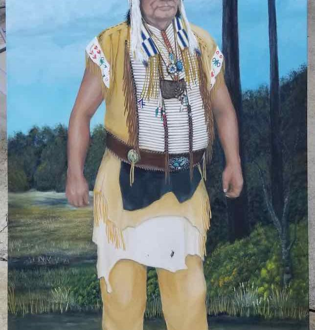 Chief Hatcher of the Waccamaw Indians