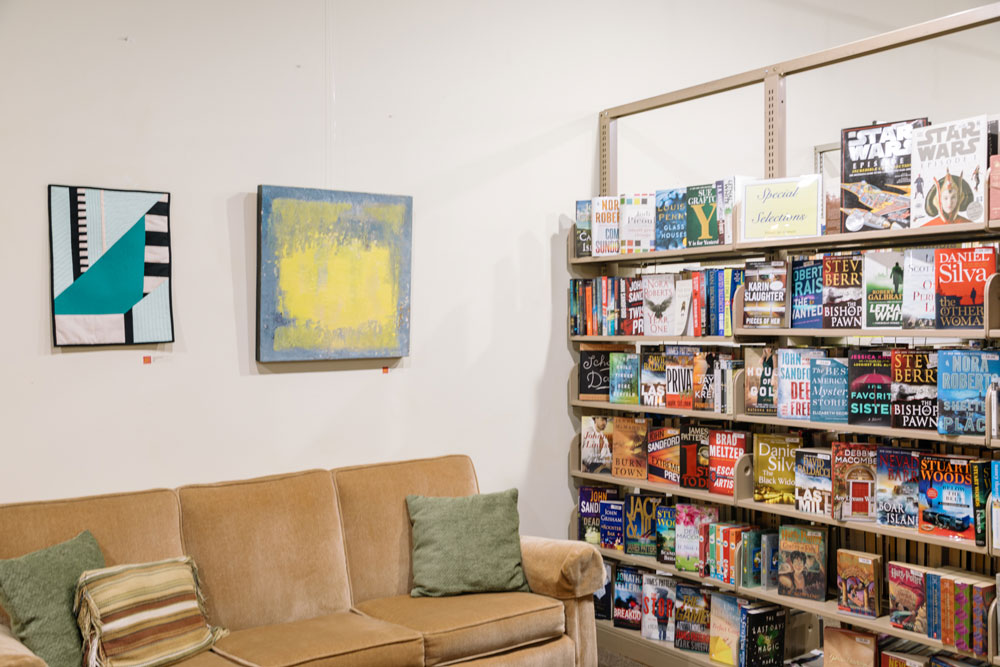 Juried Show at Friends Books on Main